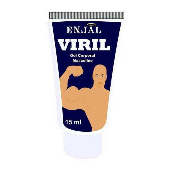 Imagem de Viril - Gel Masculino - Provocador da Ereção - 3 Funções - 15 ml - Enjal